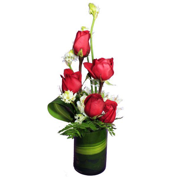 Detalle de Rosas Arreglo floral