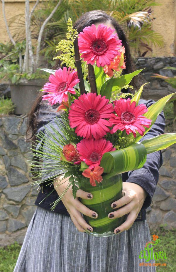 Detalle de Gerberas - Arreglo Floral